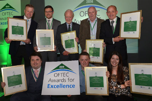 OFTEC Awards For Excellence Winners 2014