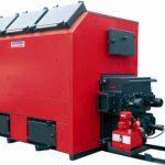 Photograph of Baxi Potterton Biomass Boiler