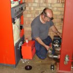 Photograph of Biomass Boiler Installer