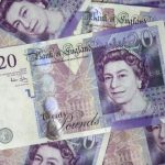 Photograph of £20 notes