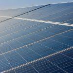 Photograph of Solar PV Panels
