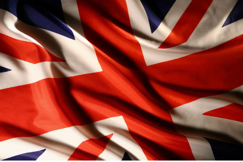 Photograph of Union Flag