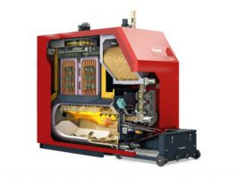 Photograph of Hoval BioLyt 110-160kw Biomass Wood Pellet Boiler