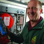 Photograph of OFTEC Heating Oil Technician
