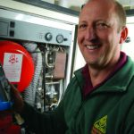 Photograph of OFTEC Registered Technician