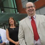 Photograph of FPS Staff Outside New Birmingham Headquarters - FPS Birmingham
