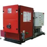 Photograph of Hoval STU 195kW Biomass Boiler