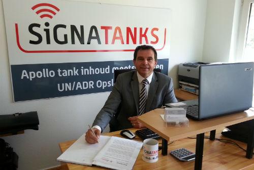 Photograph of Jan Pleunis, Signatanks' Managing Director