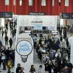 Photograph of Ecobuild entry area