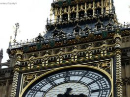 Photograph of Elizabeth Tower, Palace of Westminster
