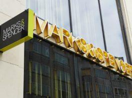 Photograph of Marks & Spencer Signage