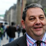 Photograph of David Coburn, skip