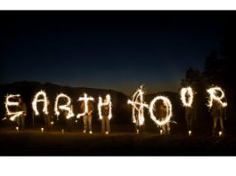 Earth Hour Lightwriting