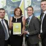 Photograph of Kensa and Westward Housing Team At Green Deal And ECO Awards