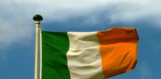 Photograph of Republic of Ireland Flag