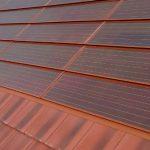Photograph of Romag Terracotta Solar Tiles