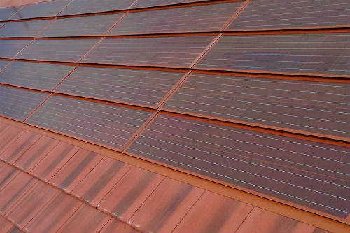 Romag S First Terracotta Solar Roof Tiles Installed In
