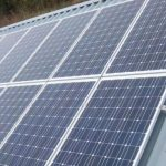 Photograph of Solar PV Panels