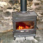 Photograph of Traditional English Stove