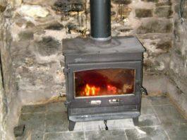Photograph of Traditional English Stove