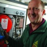 Photograph of OFTEC Registered Installer
