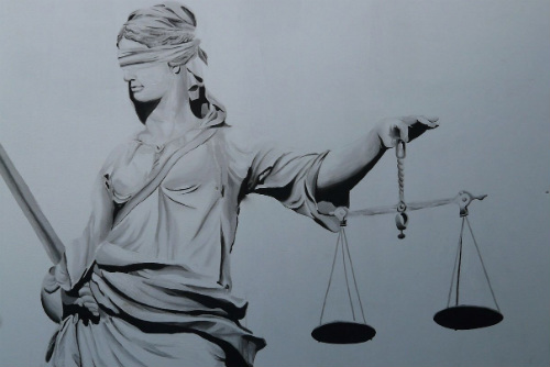 Depiction of Justice