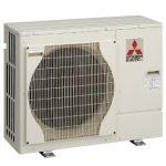 Photograph of Mitsubishi Air Source Heat Pump