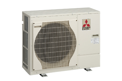 Photograph Of Mitsubishi Air Source Heat Pump