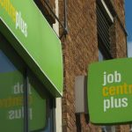 Photograph of Job Centre Plus sign