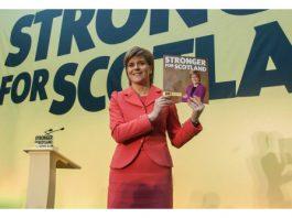 Photograph of SNP Leader, Nicola Sturgeon