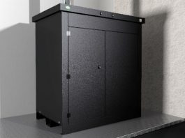 CAD Image of Trance Greenflame ECO External Biomass Boiler