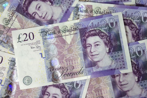 Photograph of Money
