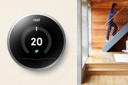 Photograph of Nest Learning Thermostat