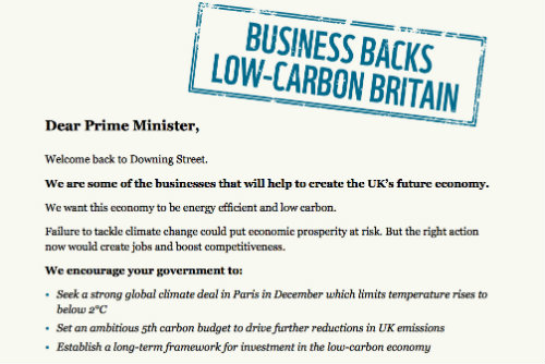 Photograph of WWF Co-ordinated Letter To Financial Times