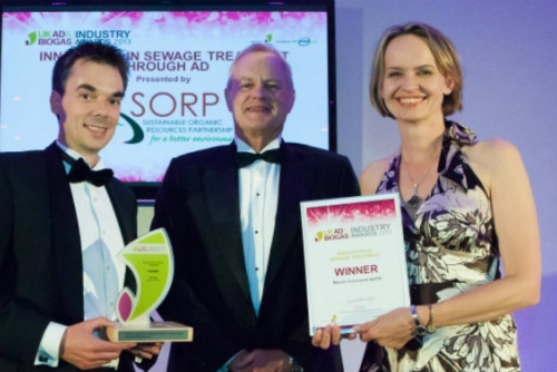 Photograph of UK Anaerobic Digestion & Biogas Award Winners