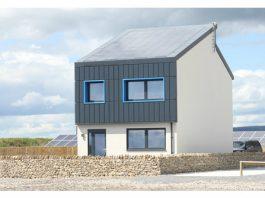 Photograph of Welsh Smart Carbon Positive House