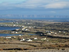 """""""View over Inishmore Aran Islands"""" by Tuoermin - Own work. Licensed under CC BY 3.0 via Wikimedia Commons - https://commons.wikimedia.org/wiki/File:View_over_Inishmore_Aran_Islands.jpg#/media/File:View_over_Inishmore_Aran_Islands.jpg"""