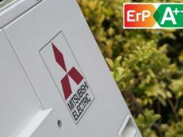 A++ ErP Rating For Mitsubishi Ecodan Air Source Heat Pumps
