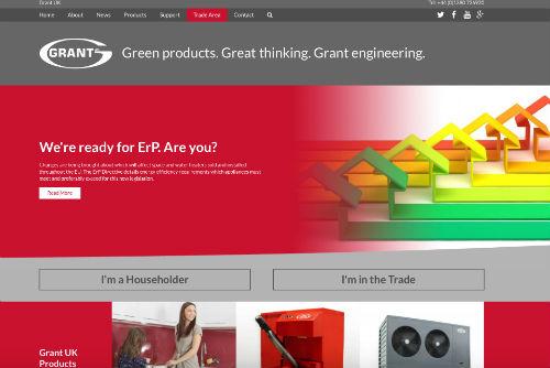 Grant UK Website