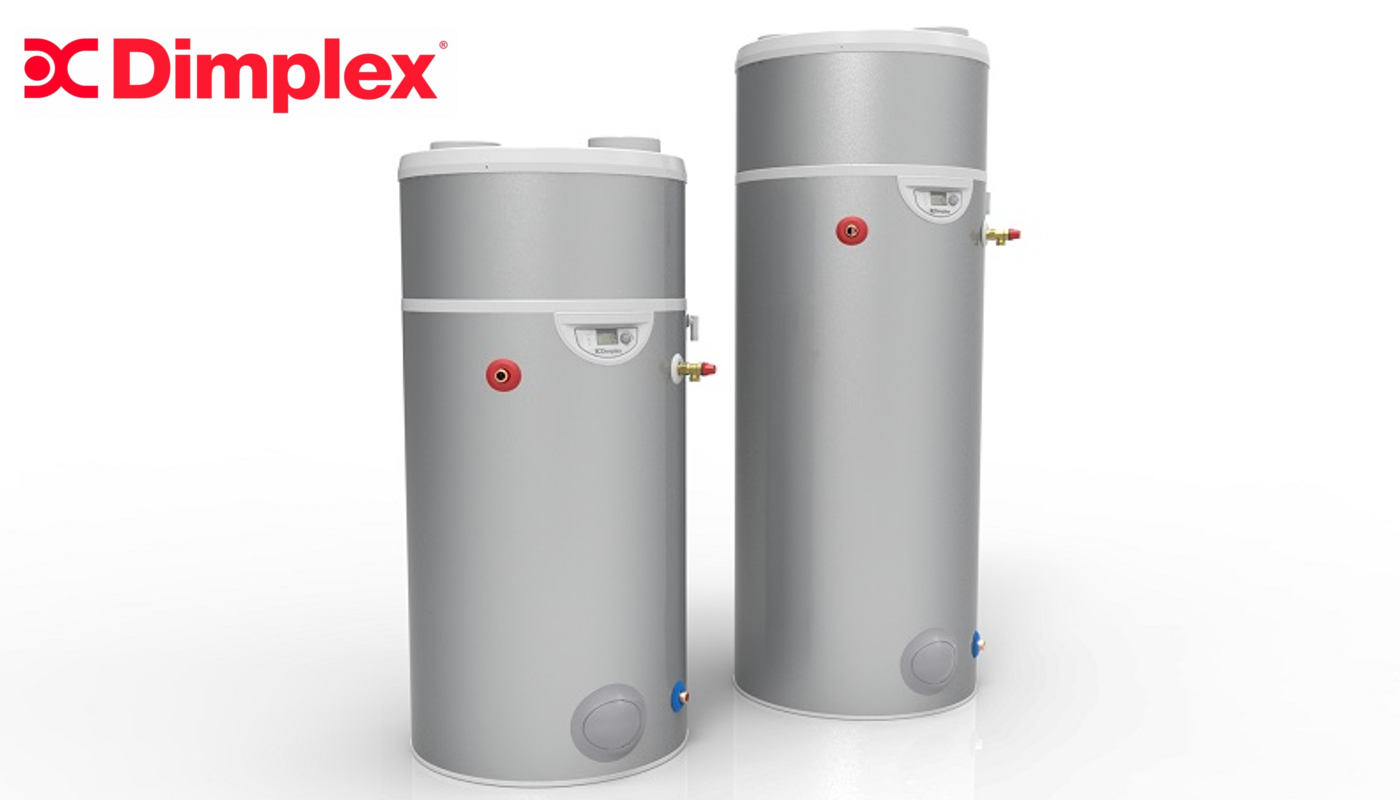 Dimplex launch energy efficient hot water heat pump for Efficient hot water systems