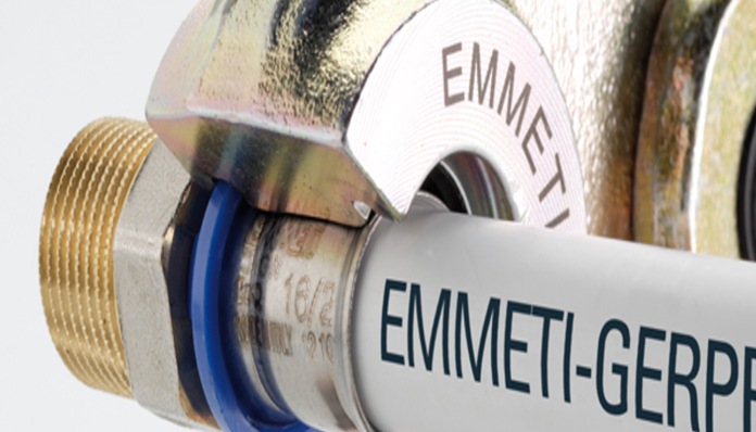 Emmeti Unveil Gerpex Multi-Layer Composite Pipe