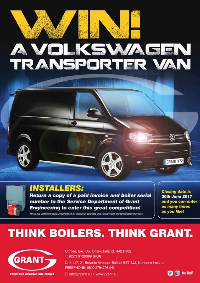 Win A New Van With Grant Engineering