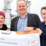 Essar Stanlow Steps Forward To Help Children's Charity