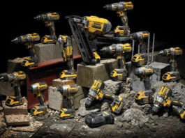DEWALT Announces New Plumbing, Electrical and Mechanical Tools