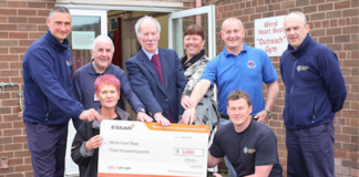 Charity Benefits From Essar Stanlow Safety Milestone