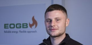 Harry Holmes full time apprentice at EOGB.