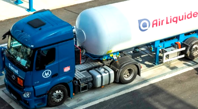 Cenex Announces Trial Of Natural Gas-Fuelled Lorries