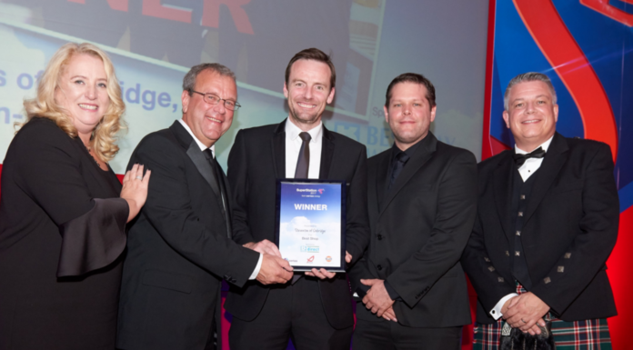 Winners of the Best Retail Shop, Stevenson's Of Oxbridge, Stockton-On-Tees
