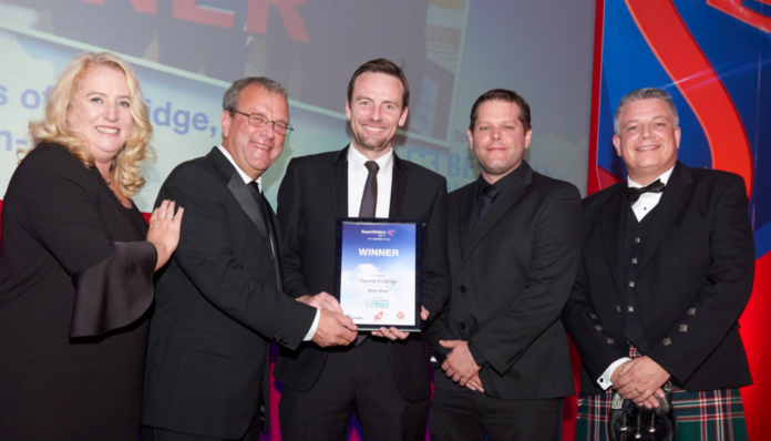 Winners of the Best Retail Shop, Stevenson's Of Oxbridge, Stockton-On-Tees